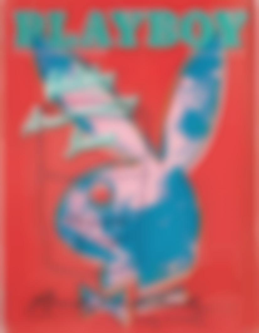 Andy Warhol-Playboy Magazine [Tomato Soup]-1986