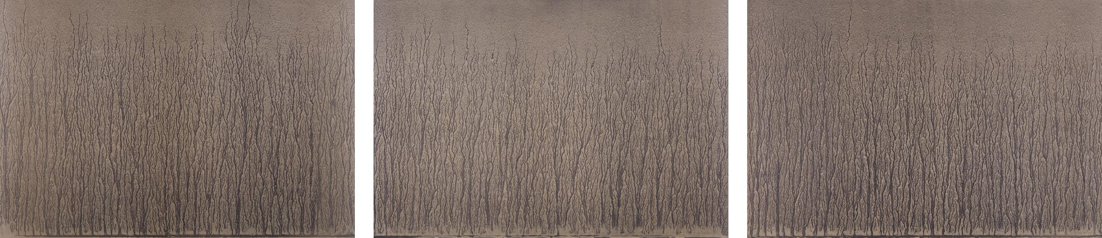 Richard Long-River Avon Mud Drawings-1989