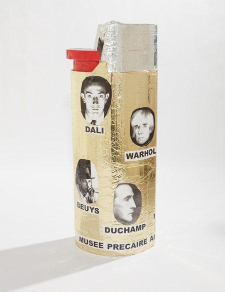 Thomas Hirschhorn-Musee Precaire Abinet (Lighter)-2004
