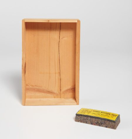 Joseph Beuys-Intuition; And Noiseless Blackboard Eraser-1974