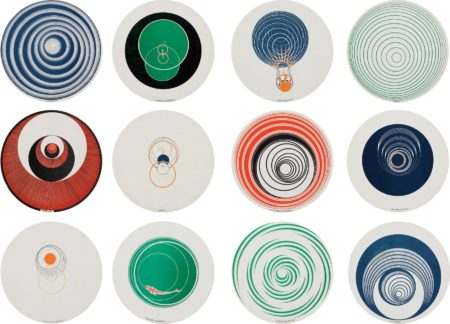 Marcel Duchamp-Rotoreliefs (Optical Disks)-1953