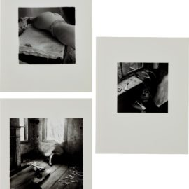 Francesca Woodman-Untitled (New York); It Must Be Time For Lunch Now; And House #3, Providence, Rhode Island-1980