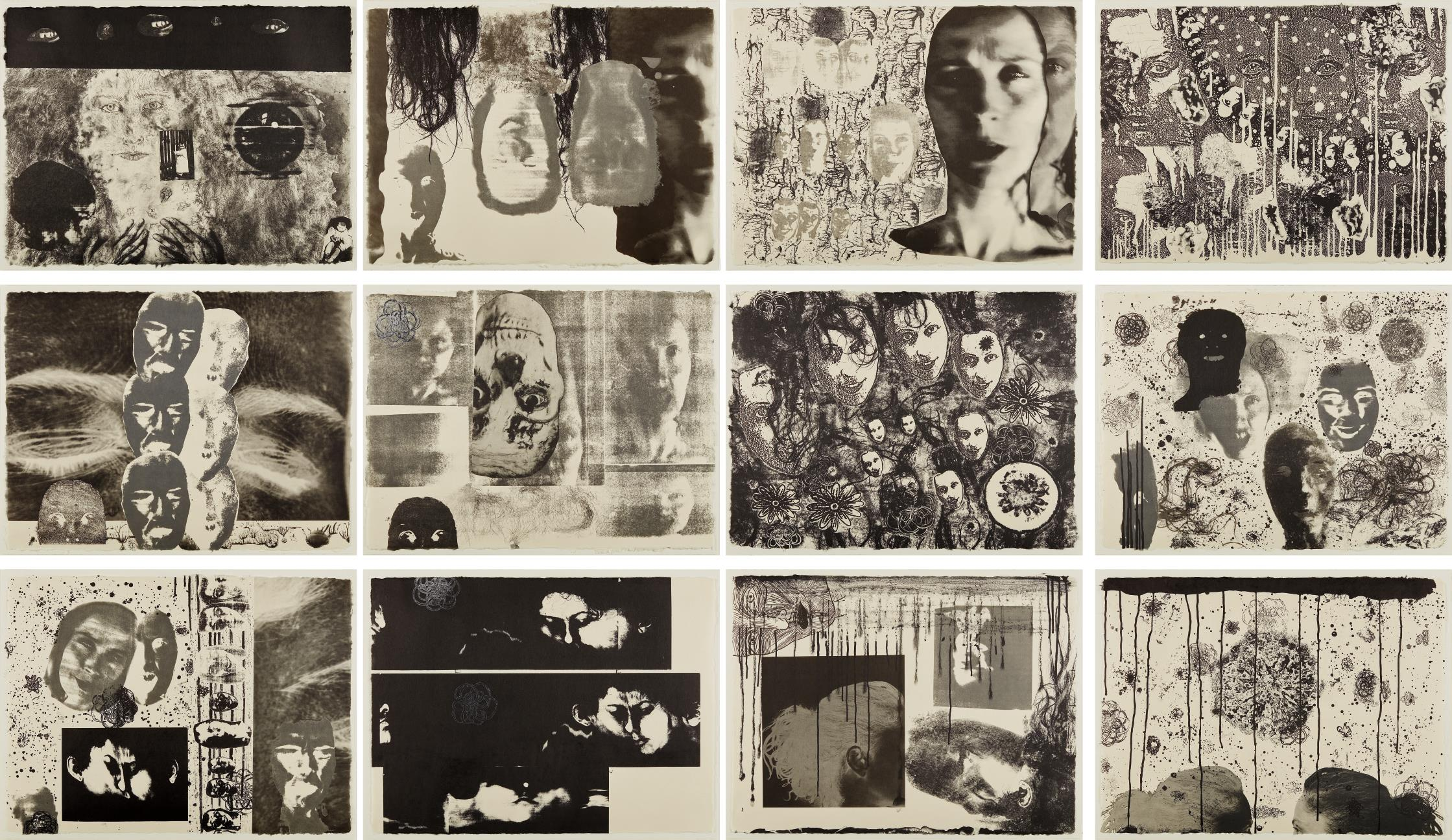 Kiki Smith-Banshee Pearls-1991