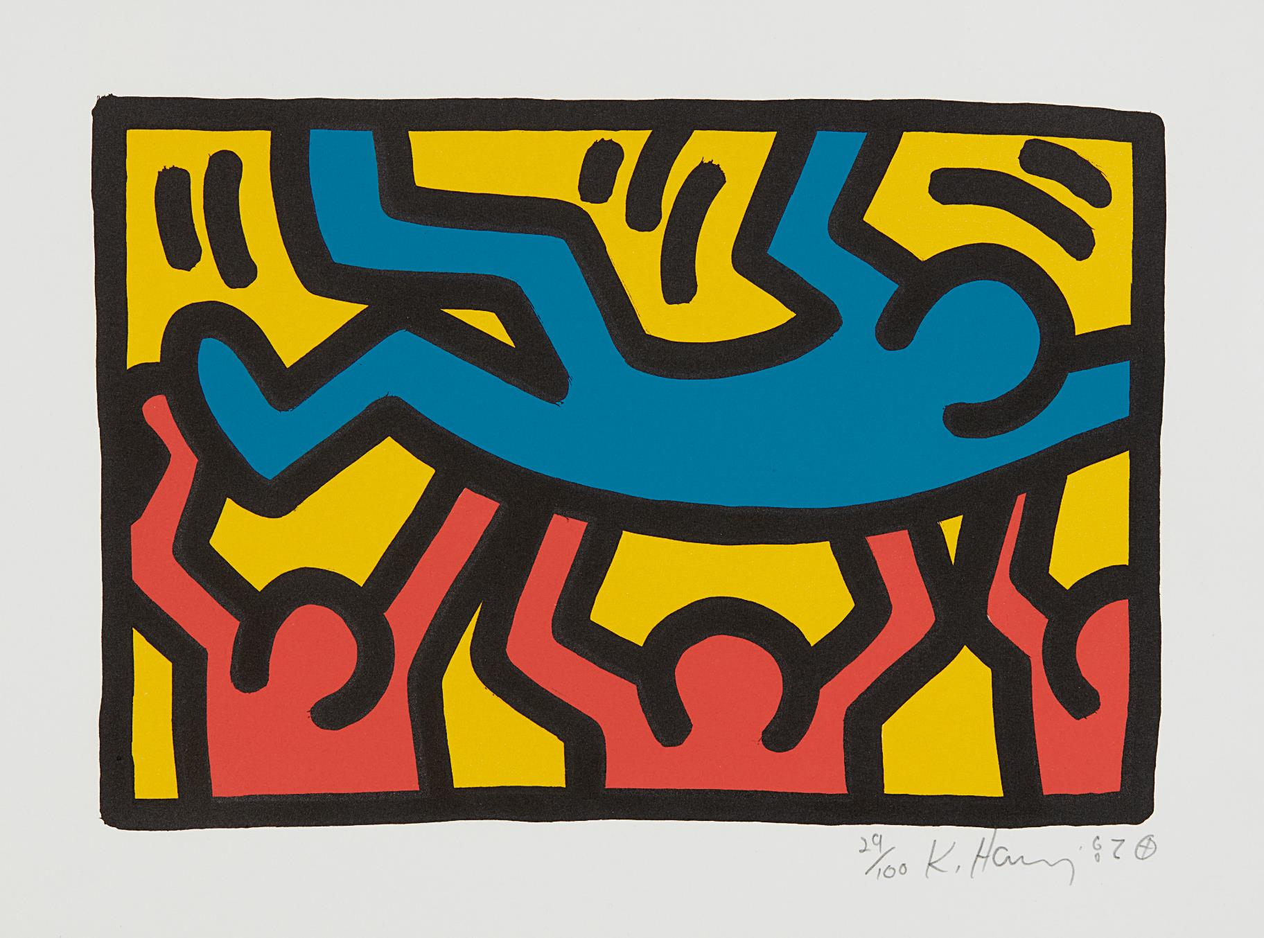 Keith Haring-Untitled-1987