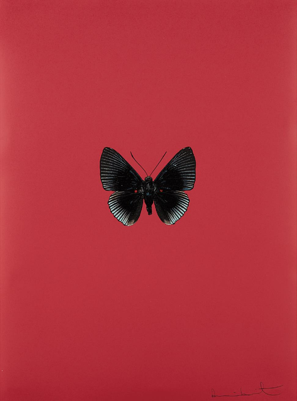 Damien Hirst-Its A Beautiful Day: One Plate-2013