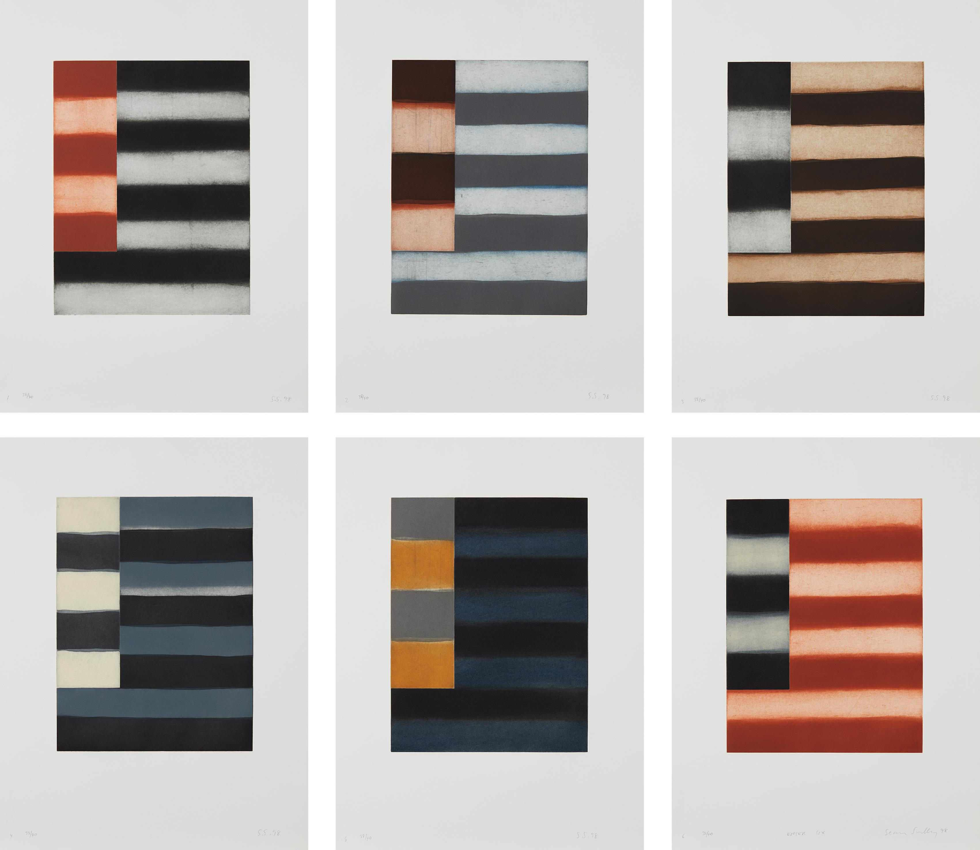Sean Scully-Enter Six-1998