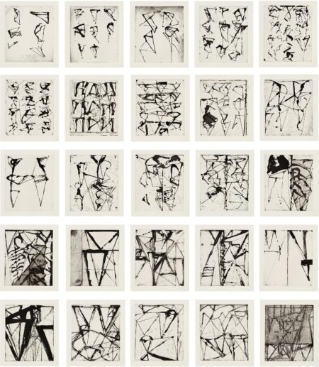 Brice Marden-Etchings To Rexroth-1986