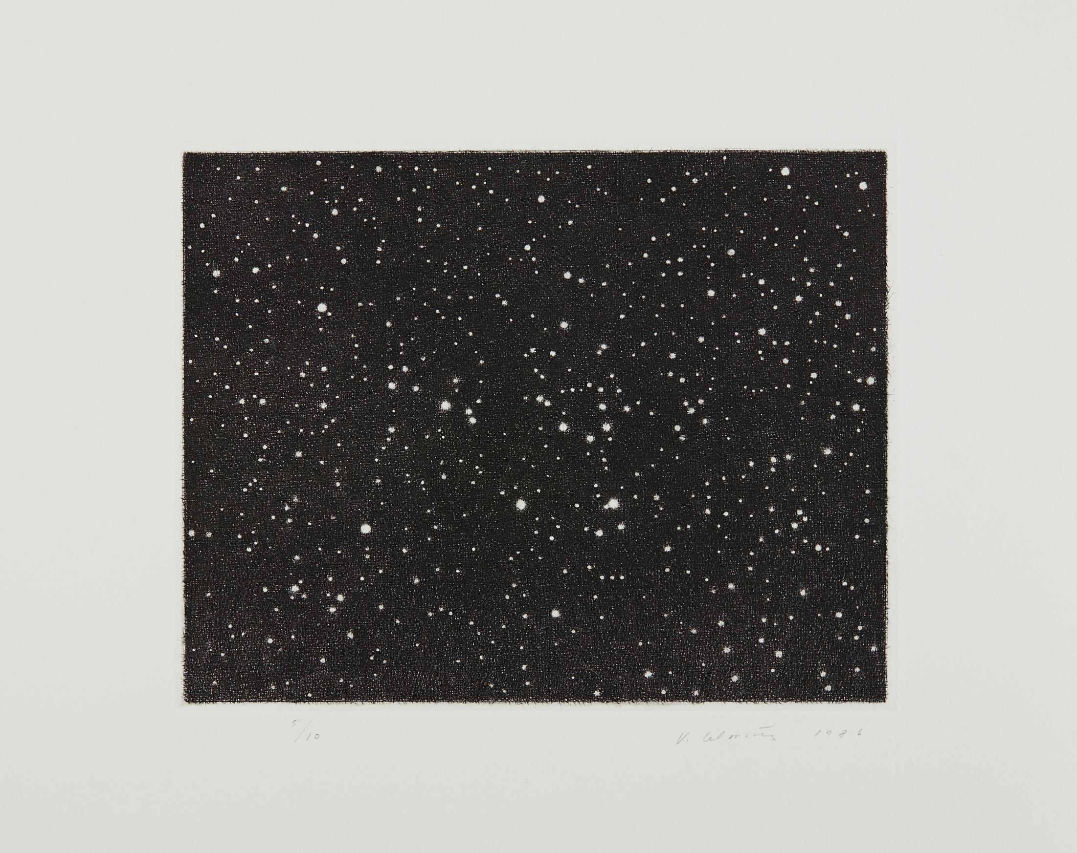 Vija Celmins-Untitled (Galaxy)-1986