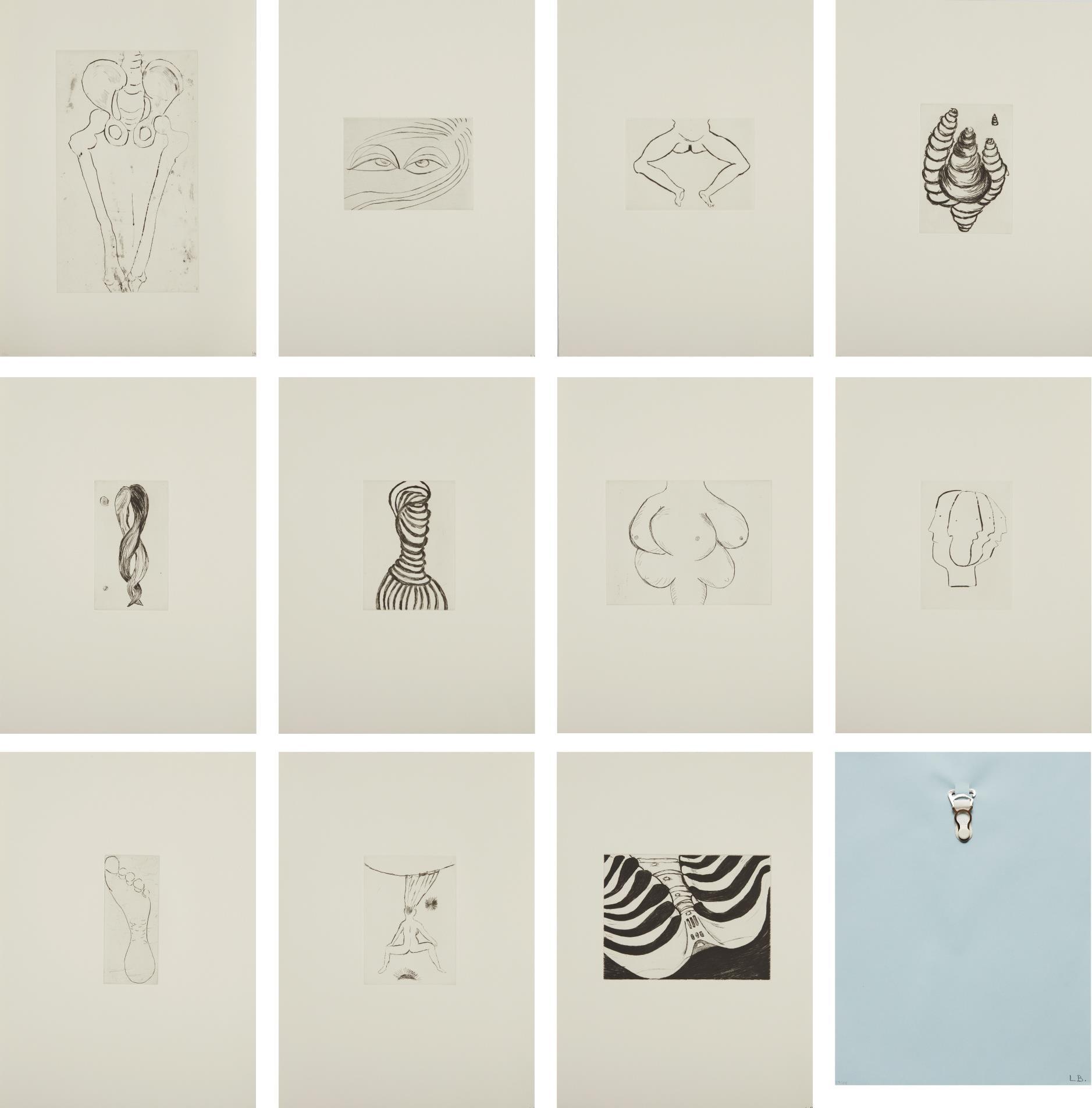 Louise Bourgeois-Anatomy-1990