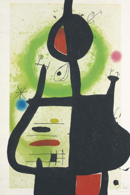 Joan Miro-La Sorciere-1969