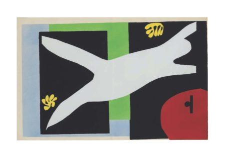 Henri Matisse-La Nageuse Dans Laquarium, From Jazz-1947