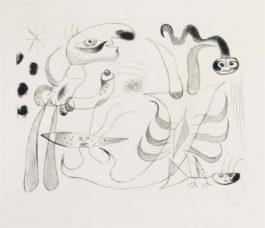 Joan Miro-Barcelona XlIII, From Barcelona Series-1944