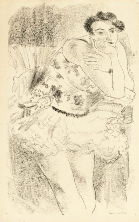 Henri Matisse-Dix Danseuses: One Plate-1927