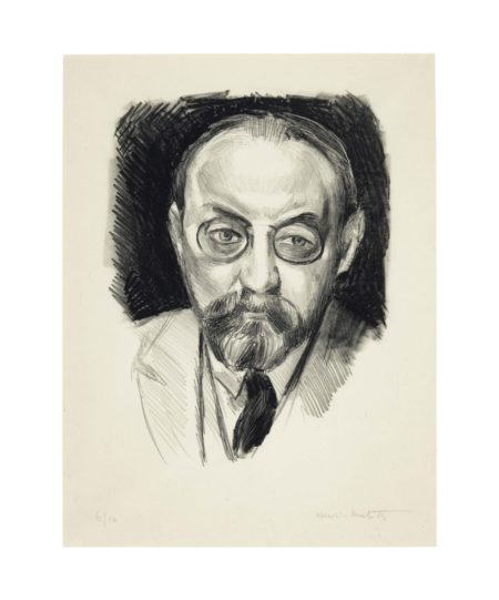 Henri Matisse-Autoportrait-1923