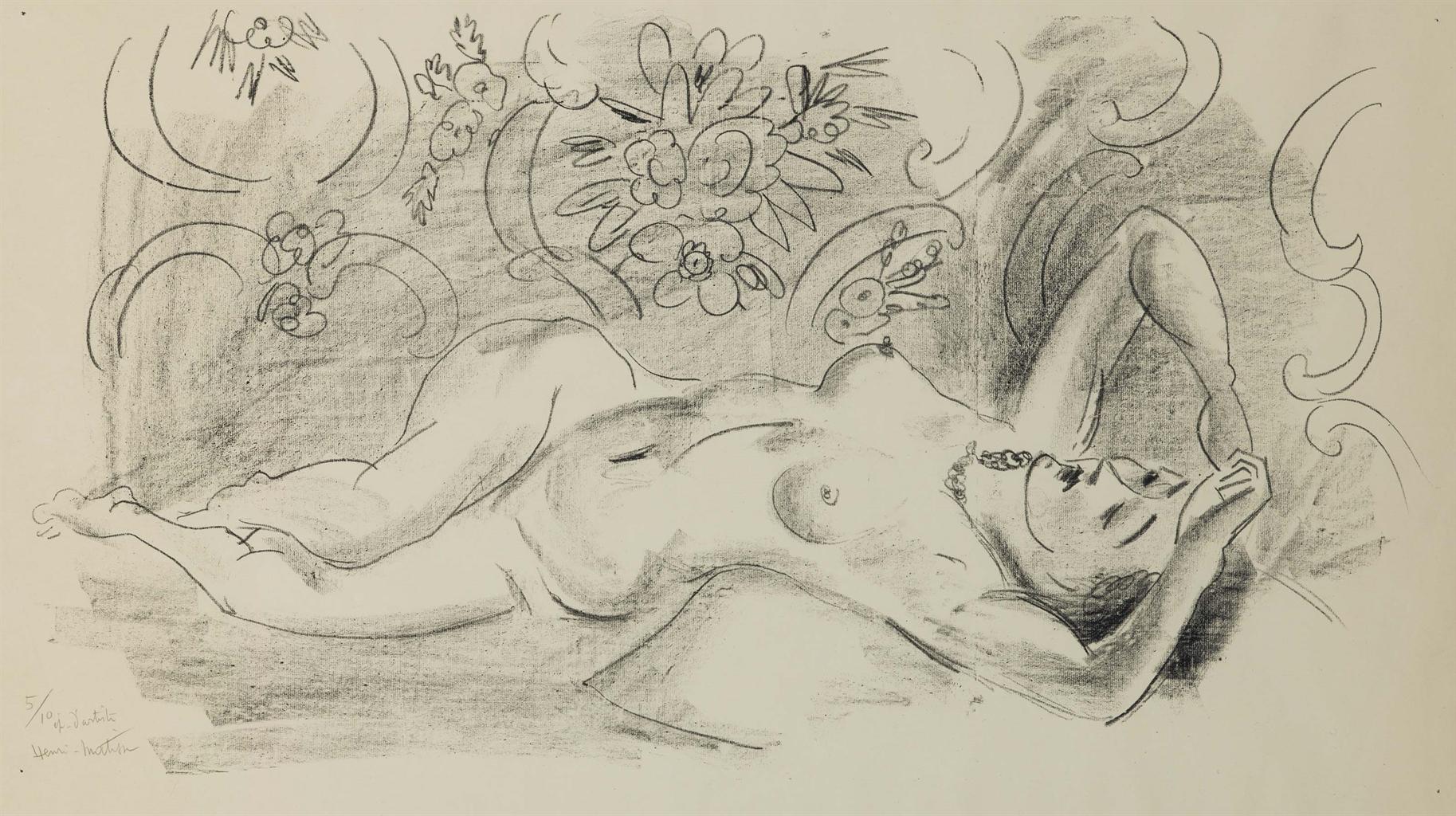 Henri Matisse-Nu. Etude De Torsion Du Corps-1926