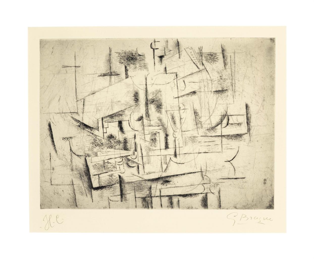 Georges Braque-Nature Morte II-1912