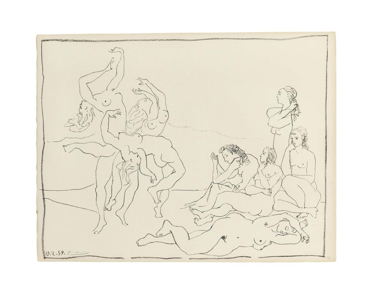 Pablo Picasso-Danses-1954