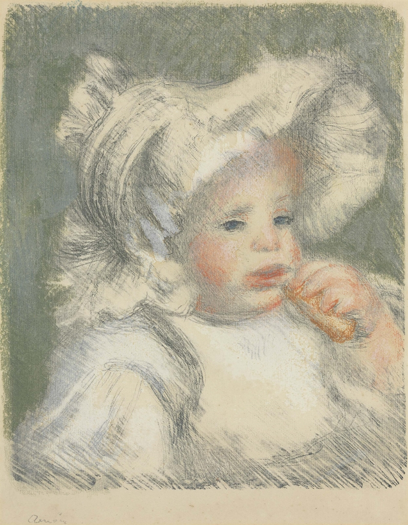 Pierre-Auguste Renoir-Lenfante Au Biscuit-1899