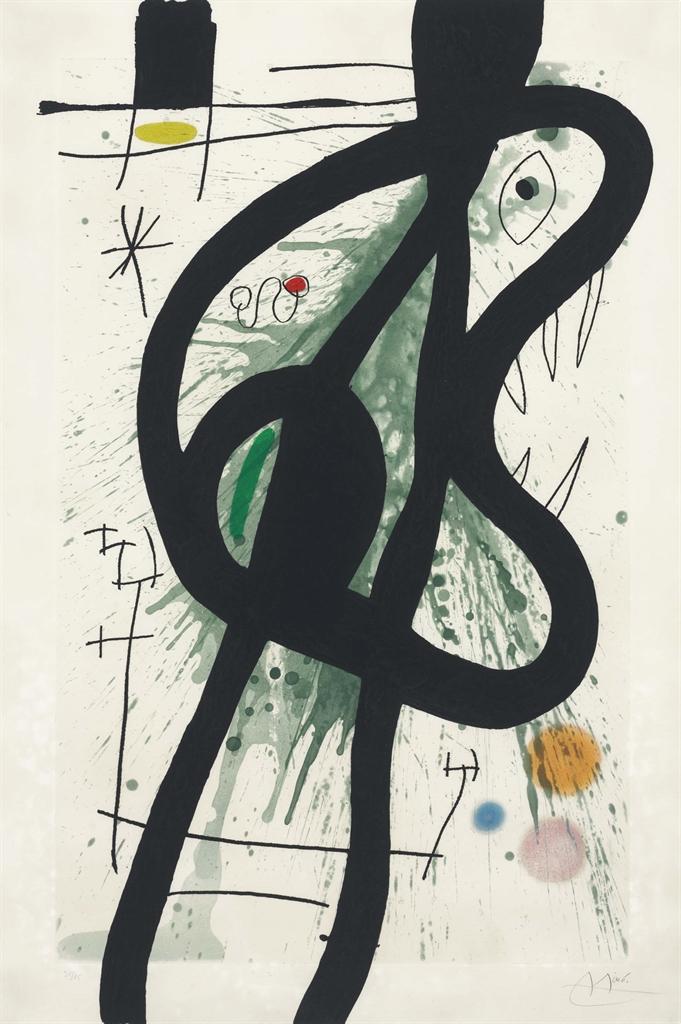 Joan Miro-Le Grand Carnassier-1969