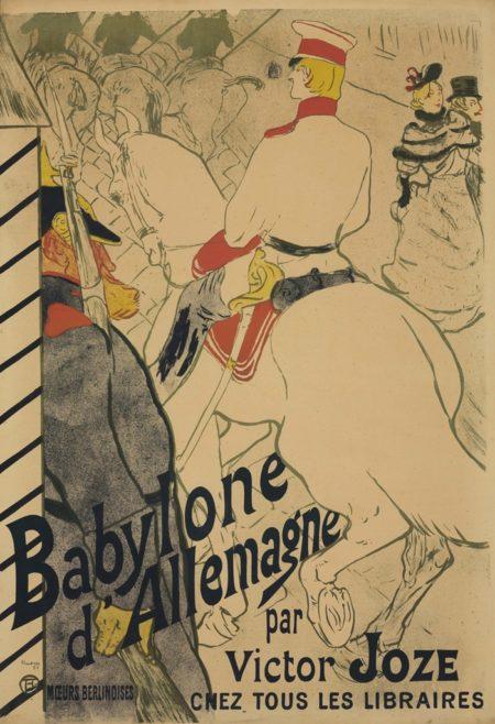 Henri de Toulouse-Lautrec-Babylone Dallemagne-1894
