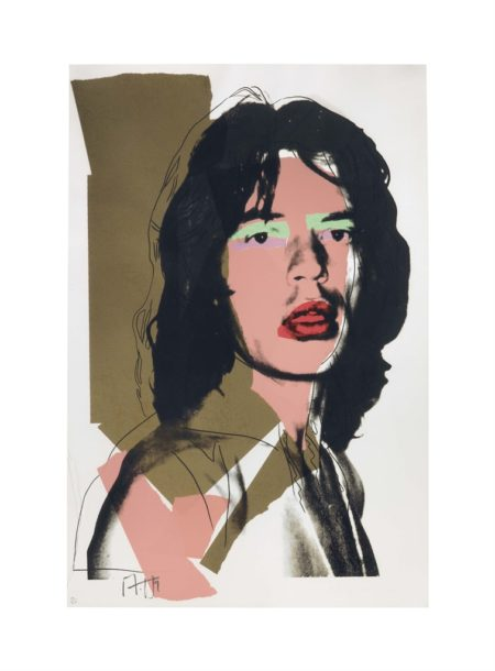 Andy Warhol-Mick Jagger: One Plate-1975