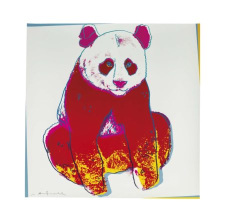 Andy Warhol-Giant Panda, From Endangered Species-1983
