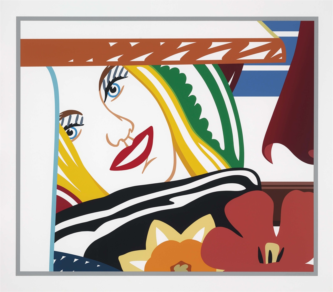 Tom Wesselmann-Bedroom Face #41-1990