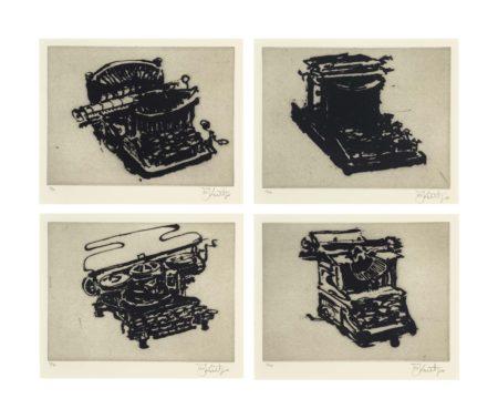 William Kentridge-Typewriter I-VIII-2003