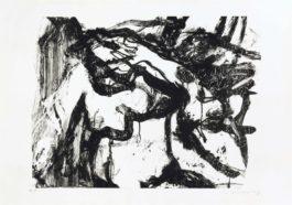 Willem de Kooning-Untitled (Small Animal)-1971