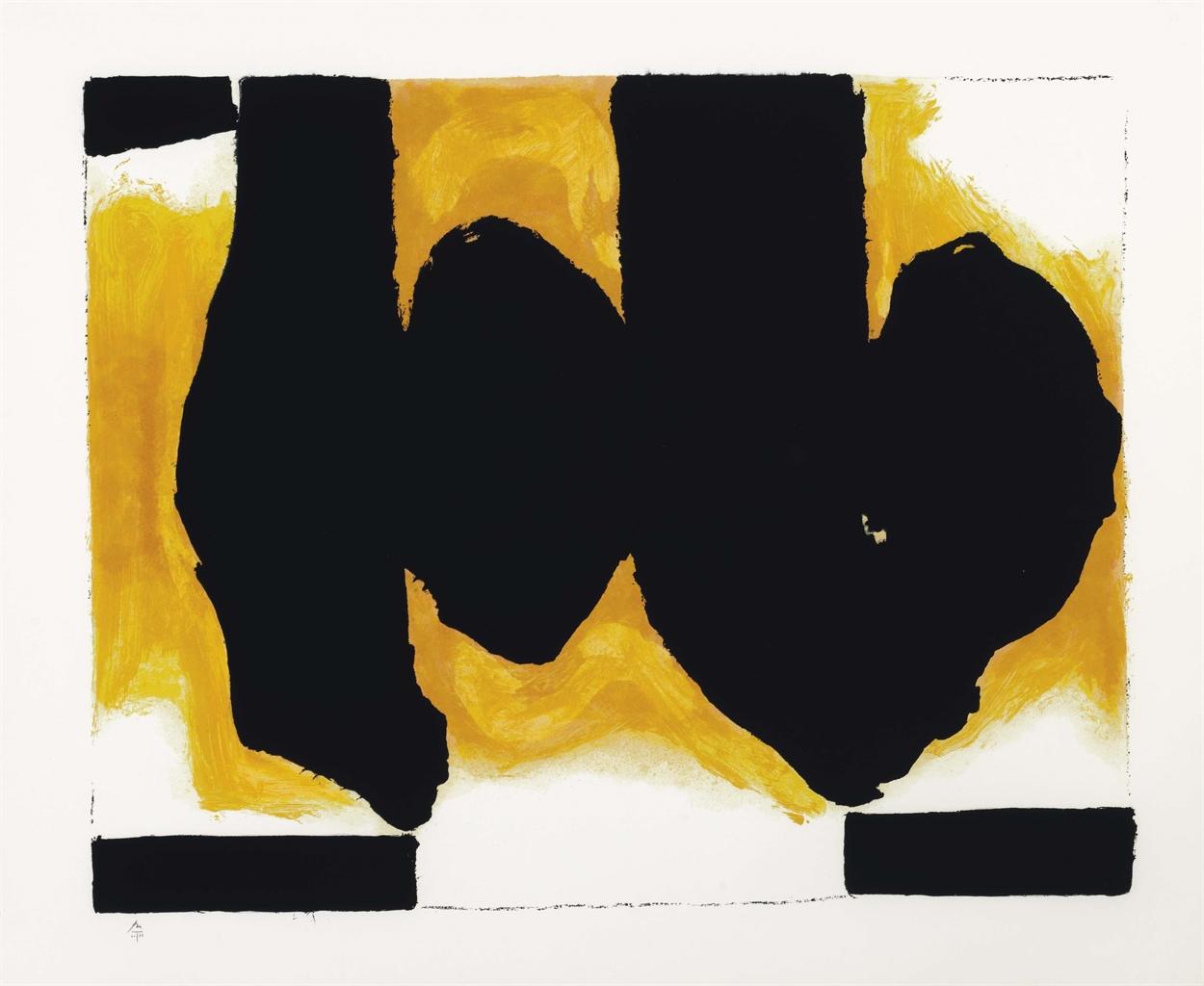 Robert Motherwell-Burning Elegy-1991