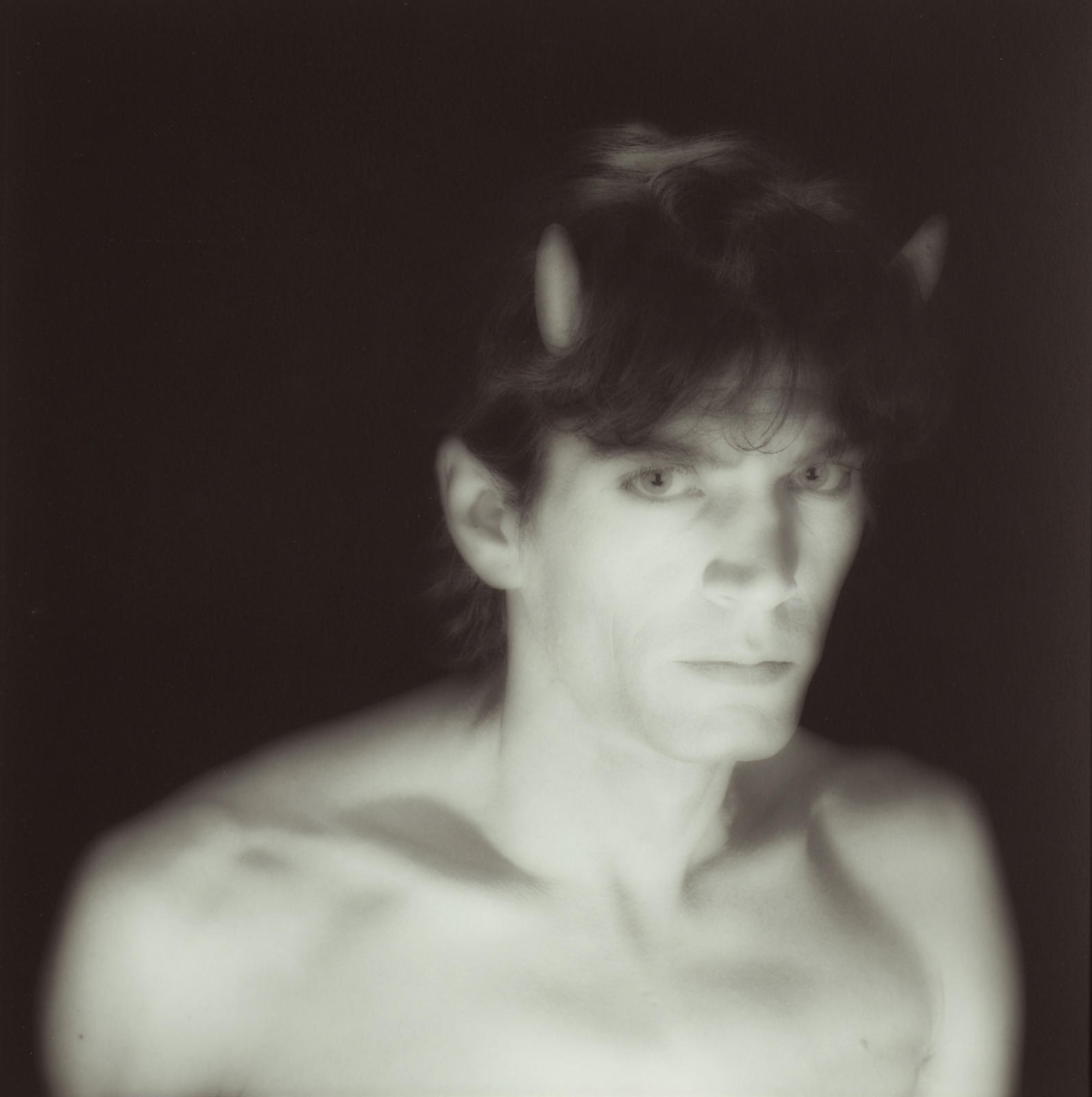 Robert Mapplethorpe-Self-Portrait With Horns-1985