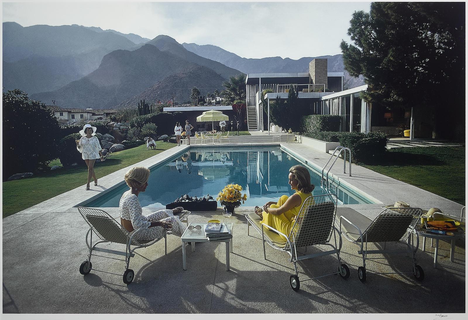 Slim Aarons-Poolside Gossip-1970