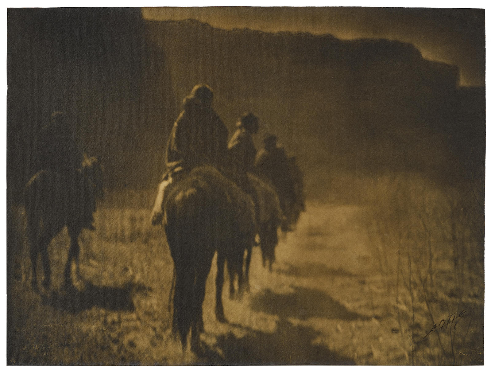 Edward S. Curtis-The Vanishing Race-1904