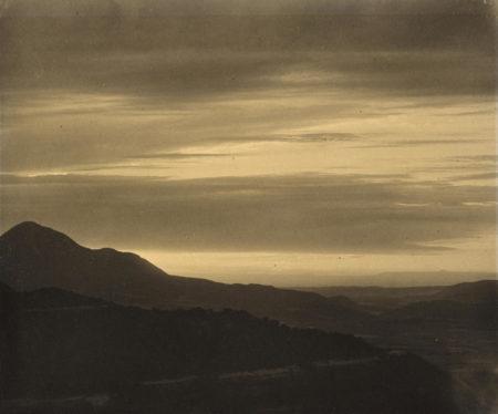 Laura Gilpin-Sunset, Mesa Verde-1930