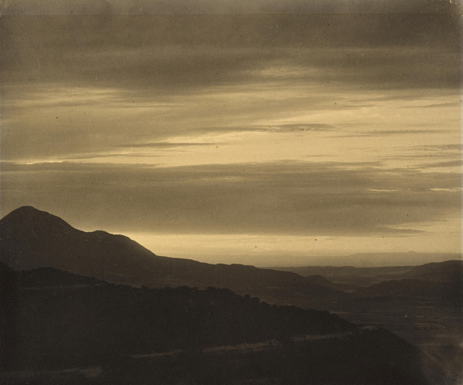Laura Gilpin-Sunset, Mesa Verde-1930