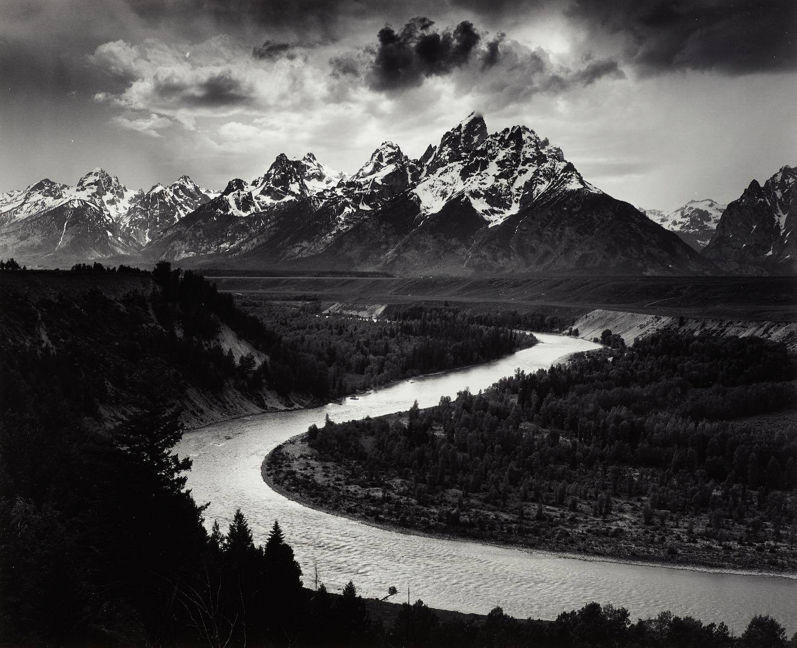 Ansel Adams-The Grand Tetons And The Snake River, Grand Teton National Park, Wyoming-1942