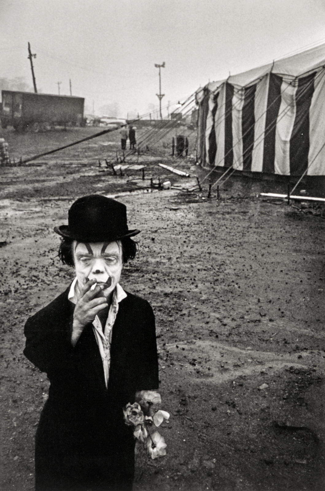 Bruce Davidson-Circus Dwarf, Palisades, New Jersey-1958