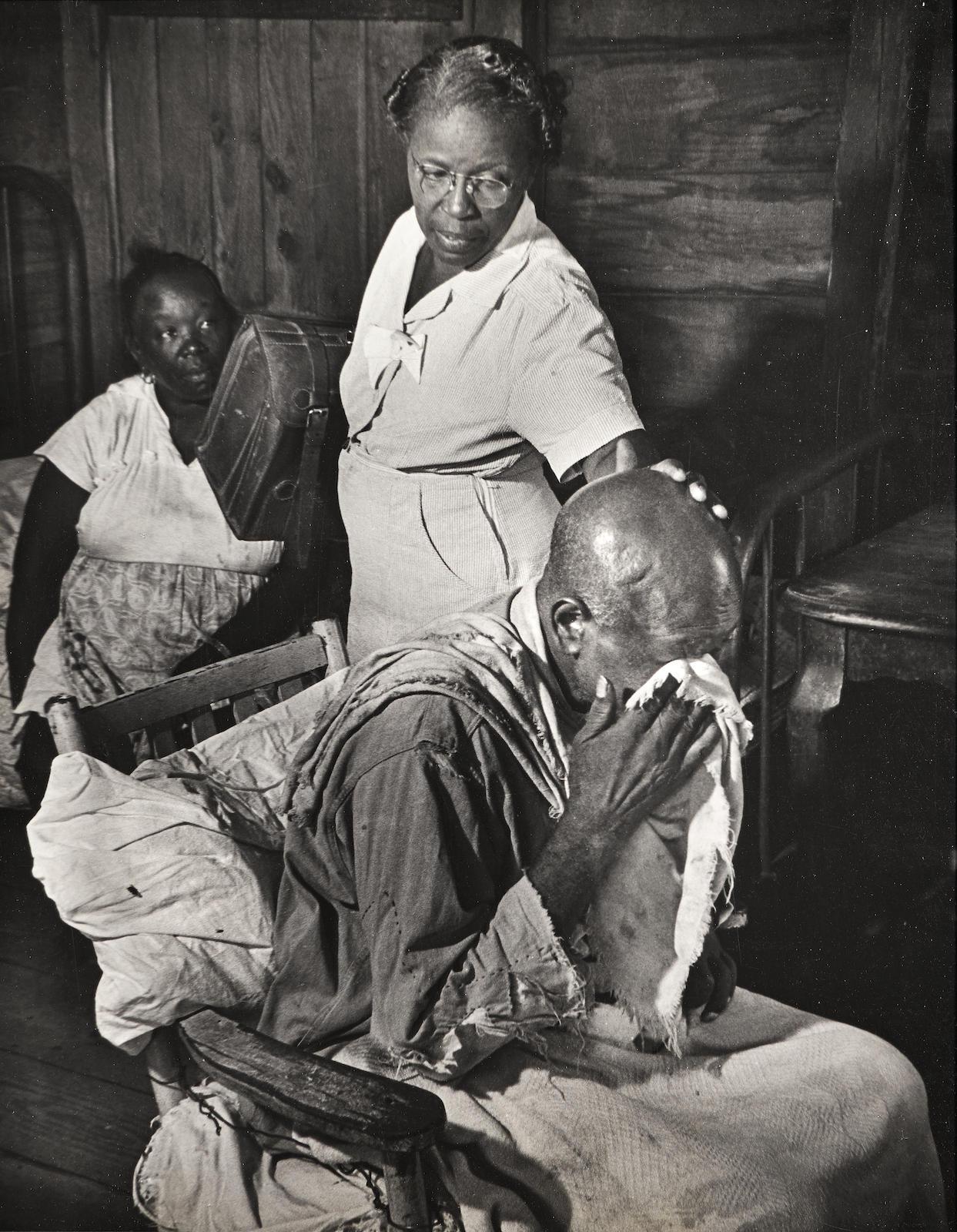 W. Eugene Smith-Maude Callen, Nurse Midwife-1951