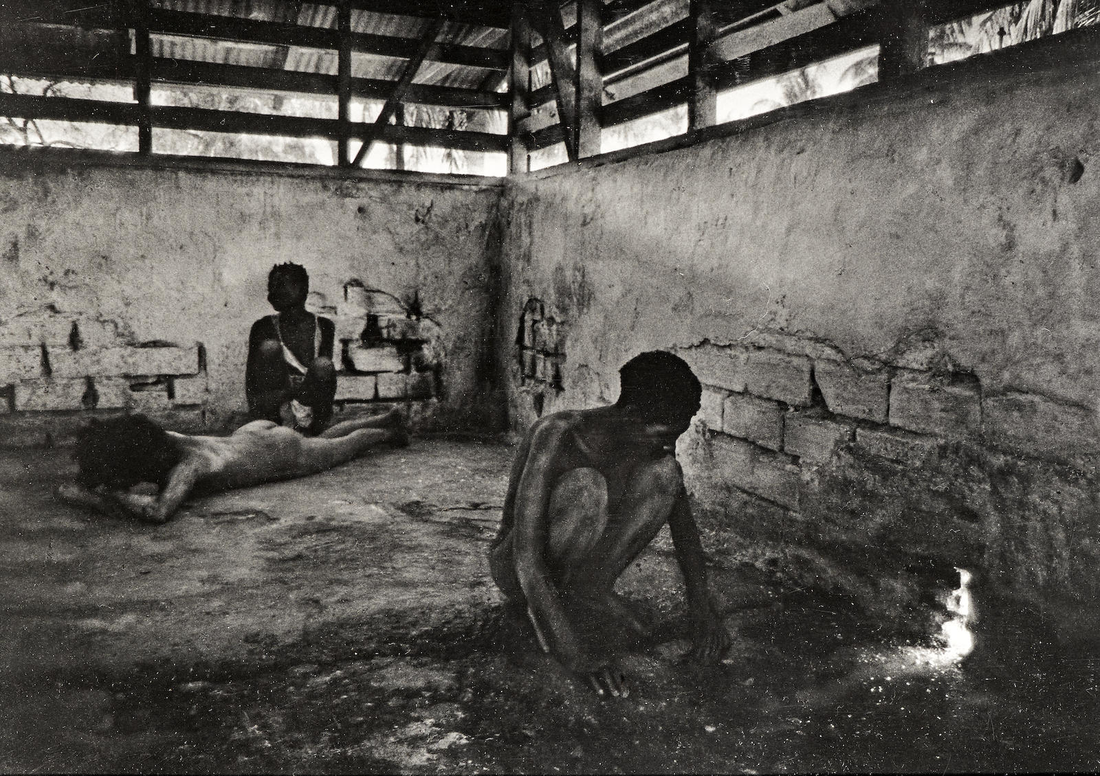 W. Eugene Smith-Haiti, The Care Of Mental Patients Insane Asylum-1959