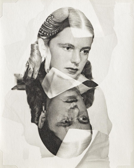 Man Ray-Muriel Levy (Double Exposure)-1945