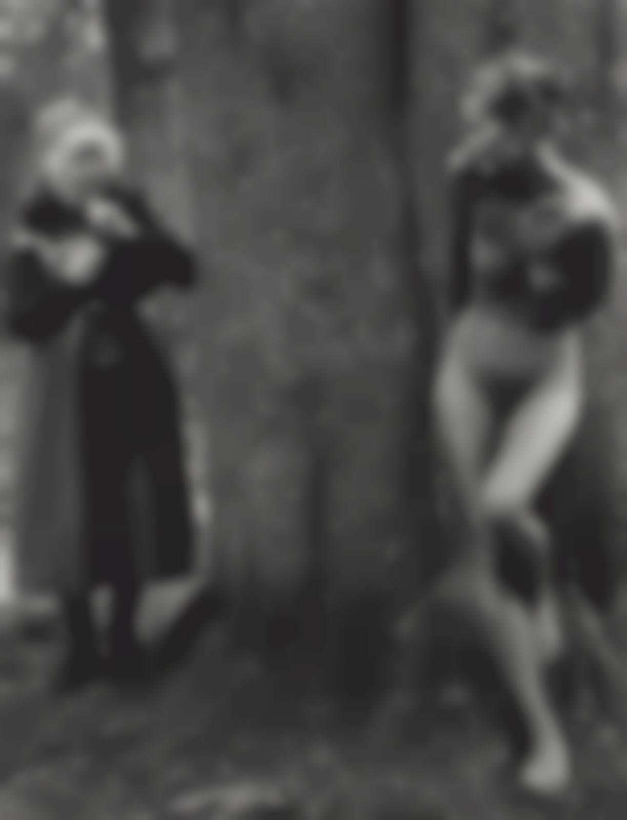 Judy Dater-Imogen Cunningham And Twinka At Yosemite-1974