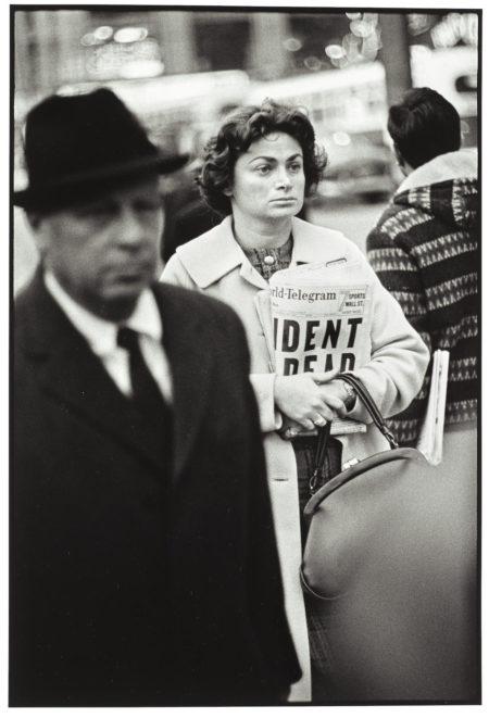 Richard Avedon-Kennedy Assassination, Times Square, New York City, November 22-1963