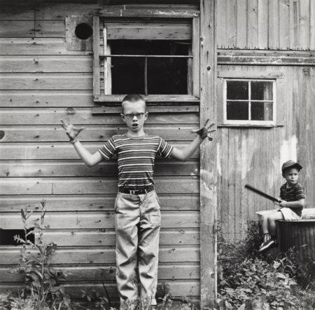 Ralph Eugene Meatyard-Untitled (Boy Making Gesture), From Ralph Meatyard: Portfolio Three-1971