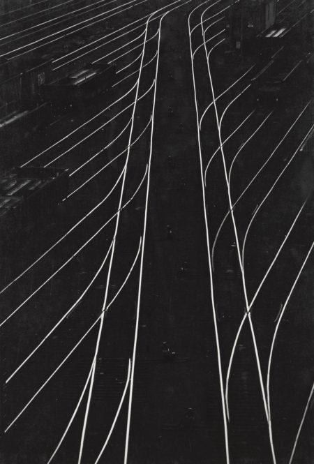 W. Eugene Smith-Railroad Tracks, Pittsburgh-1956