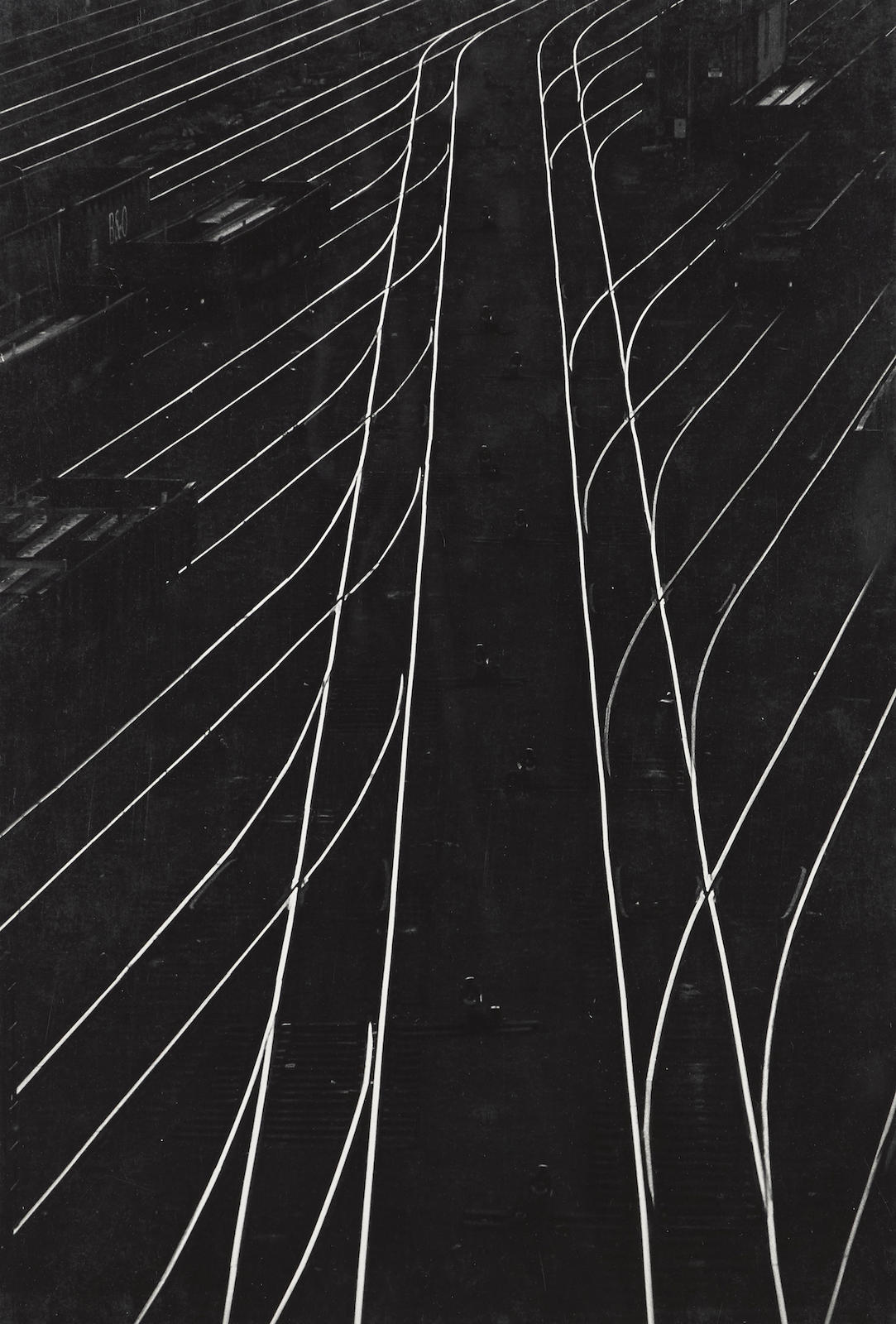 W. Eugene Smith-Railroad Tracks, Pittsburgh-1956