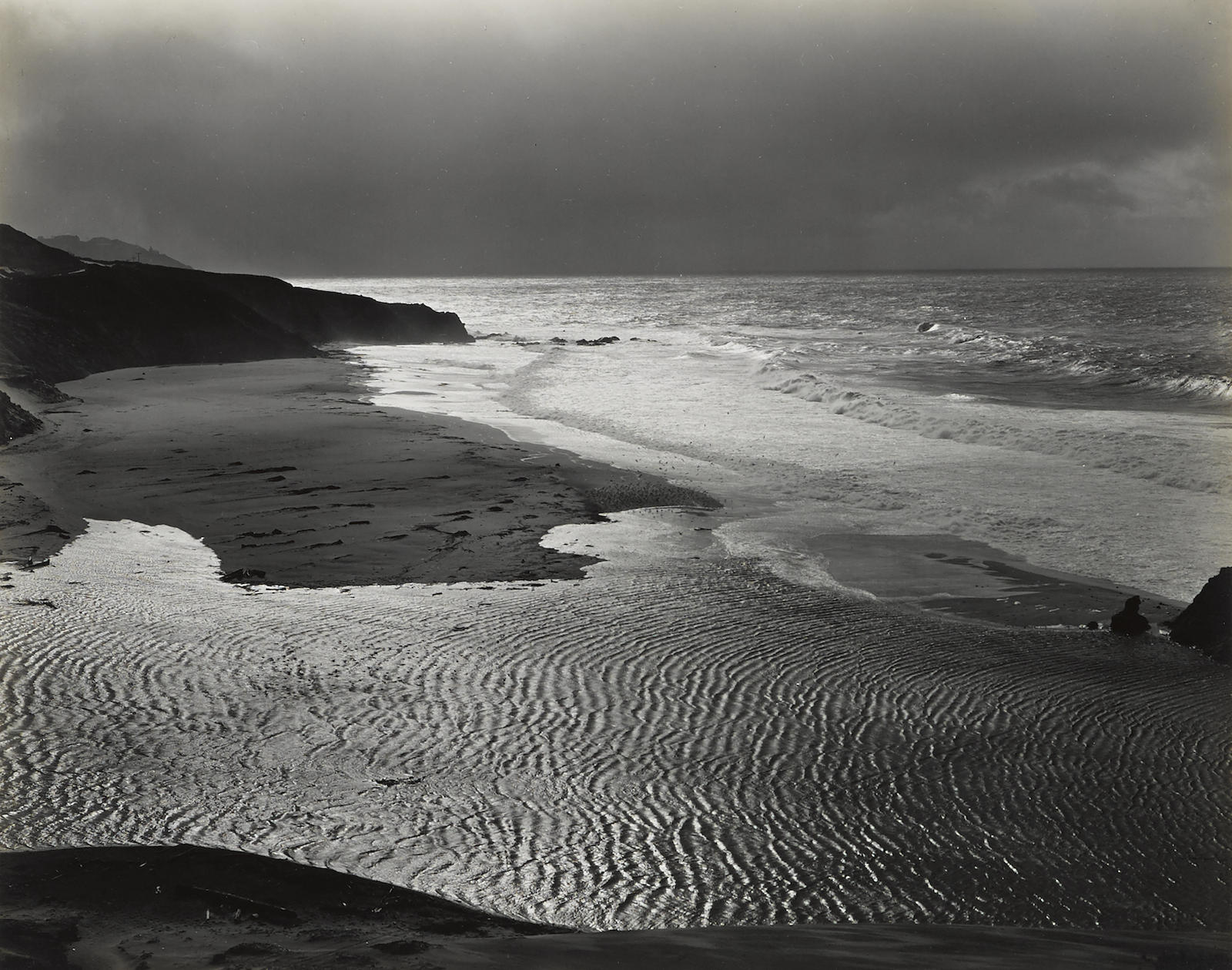 Brett Weston-Big Sur Coast, California-1951