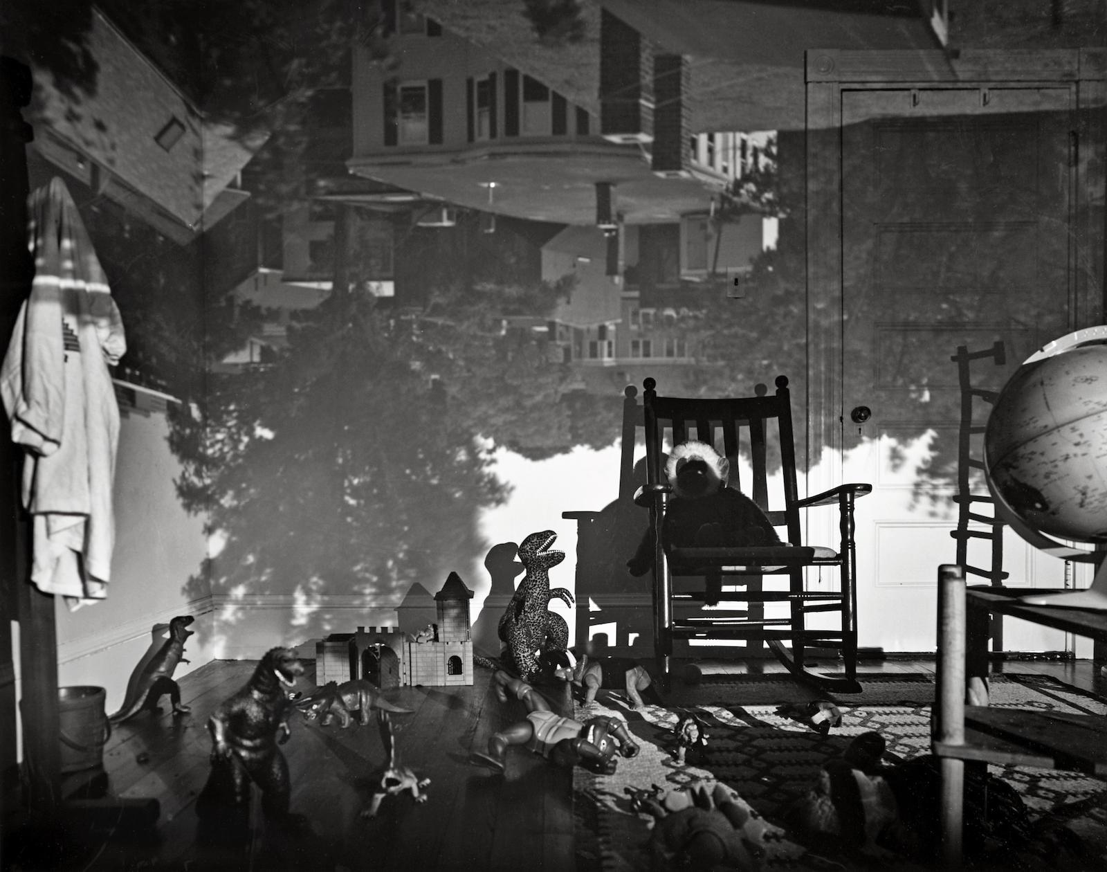 Abelardo Morell-Camera Obscura Image Of Brookline View In Bradys Room-1992