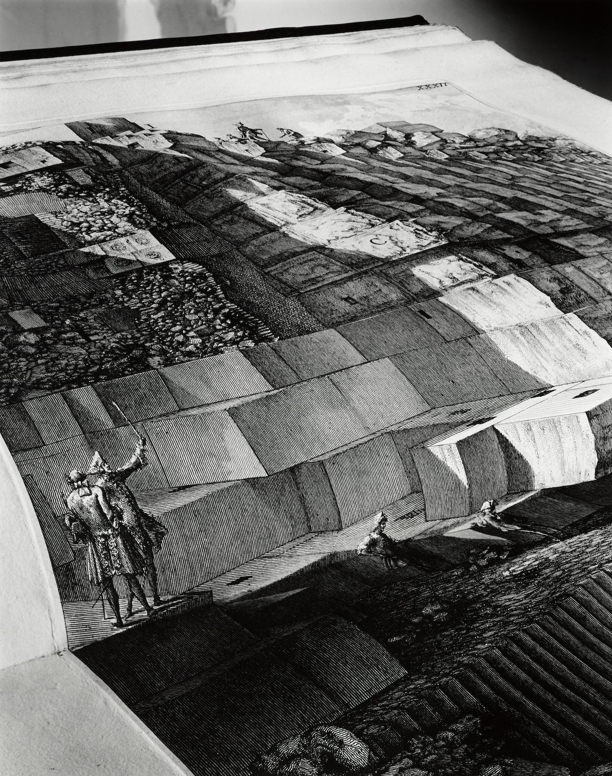 Abelardo Morell-Le Antichita Romane By Piranesi #2-1994