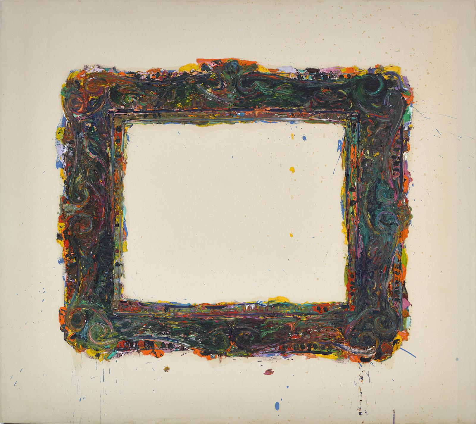 Robert Arneson-Frame Painting #7 (Soutine)-1968