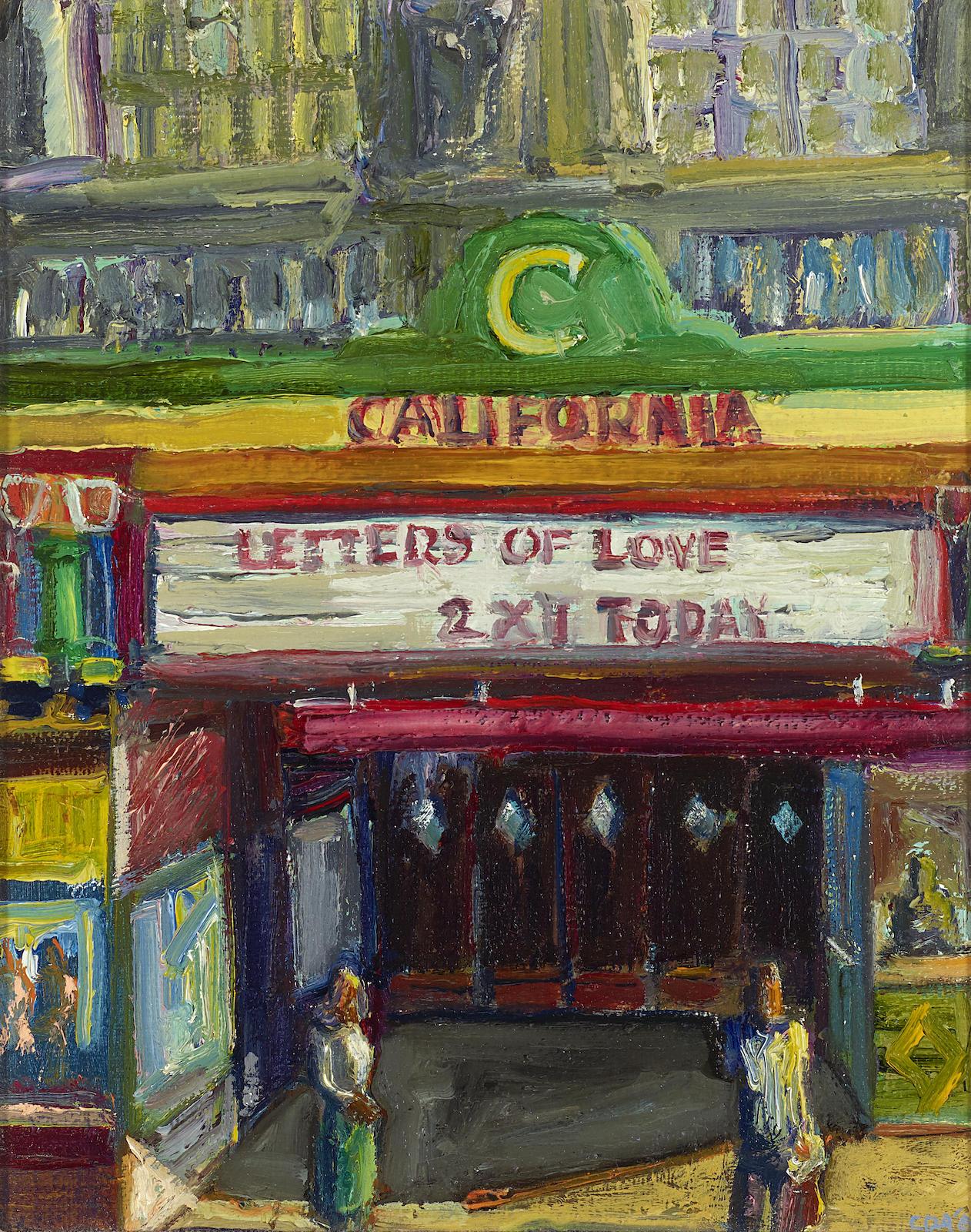 Carlos Almaraz-California Theatre-1987
